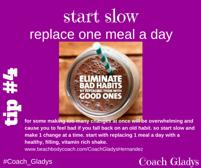 Coach Gladys Tip #5 Start Slow