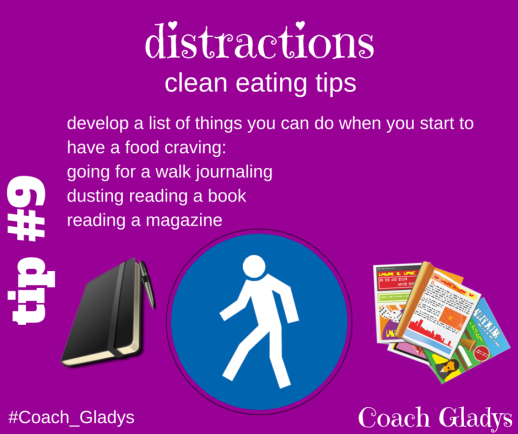 Coach Gladys Tip #9 Distractions