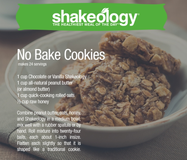NO-BAKE-COOKIES Shakeology