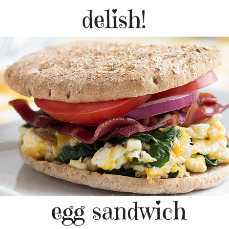 egg sandwich pic