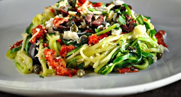mediterranean 'pasta' salad