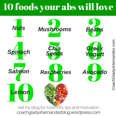 10 foods to reduce belly fat