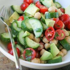 mini salad prep