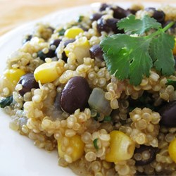 Quinoa Beans and corn image