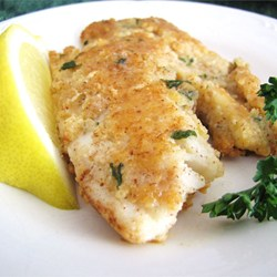 Tilapia almond crusted